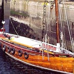 This vessel was fully restored by our craftsmen and is now based on the west coast