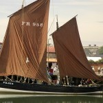 Annually repaired at our yard and regular attraction at Arbroath Seafest